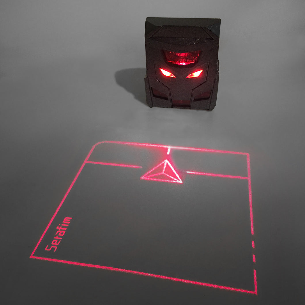[Serafim] ODiN - Virtual Laser Holographic Mouse