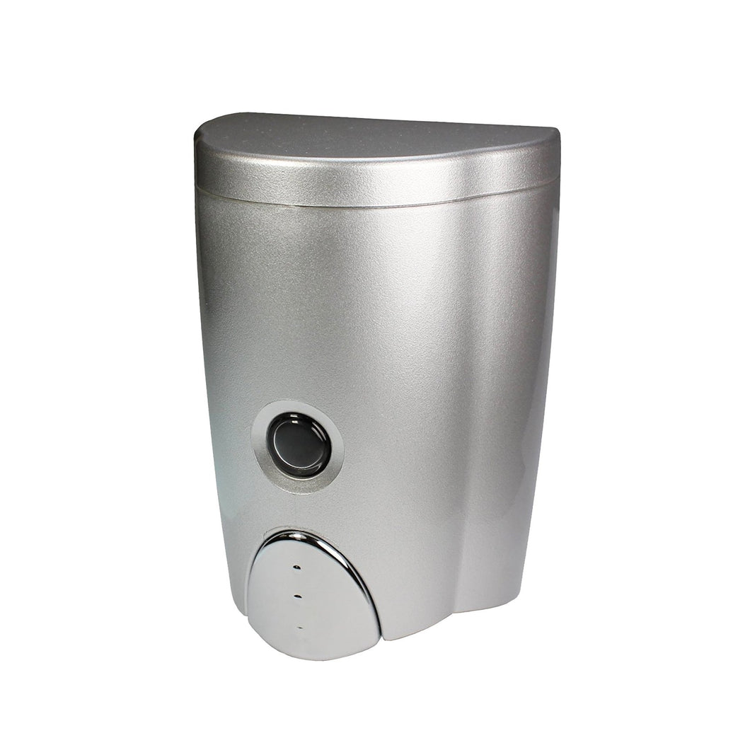 [Homepluz] Simply Silver Wall-Mount Soap Dispenser