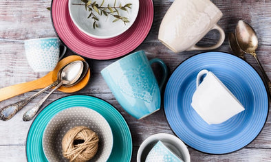 Tips for Mixing and Matching Tableware