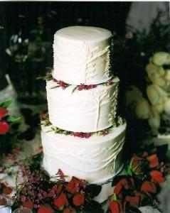 Cutting And Preserving The Wedding Cake
