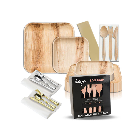 Disposable Dinnerware Sets