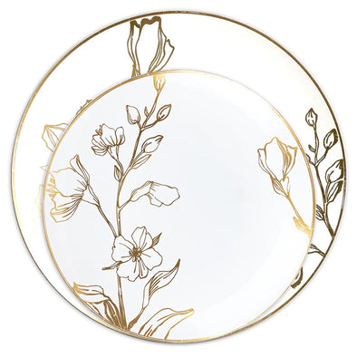 Antique Floral Plates Collection