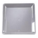14x14 Clear Square Tray