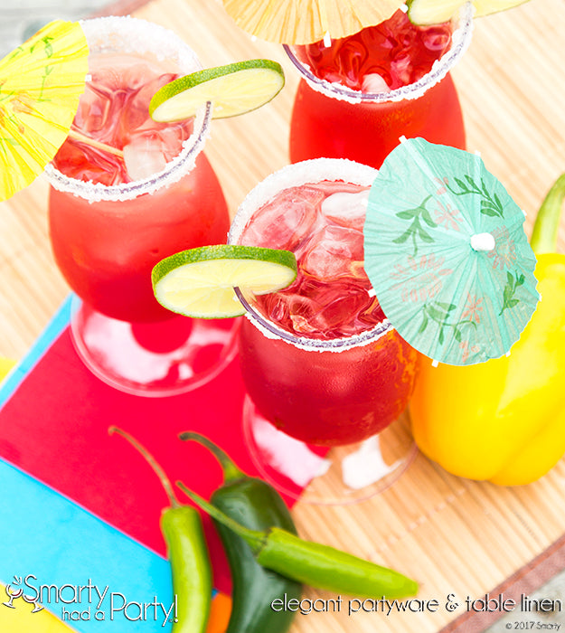 Vacation on your mind? This prickly pear margarita will take you there. Learn how to make it now! | SmartyHadAParty.com