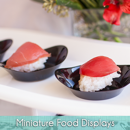 miniature-food-display-Ellipse-Black-Sample-Plates