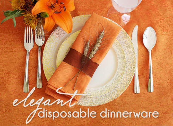 Autumn Inspired place Setting by Smarty Had A Party