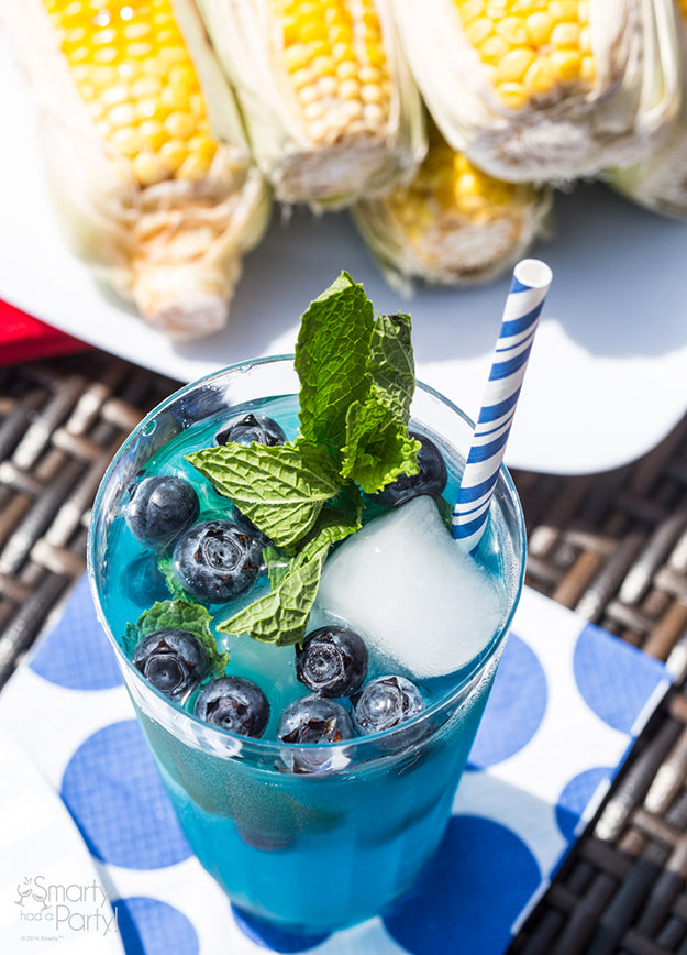 Blueberry Mojitos!   Smarty Had A Party