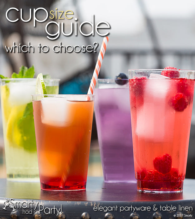 Cup size guide - which to choose? | SmartyHadAParty.com