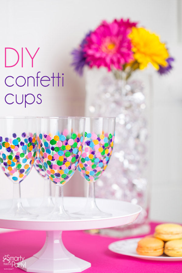 DIY Confetti Cups! | Smarty Had A Party