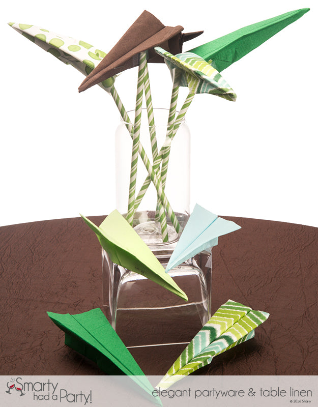 DIY Father's Day Inspiration - Paper Airplane Centerpiece | www.SmartyHadAParty.com