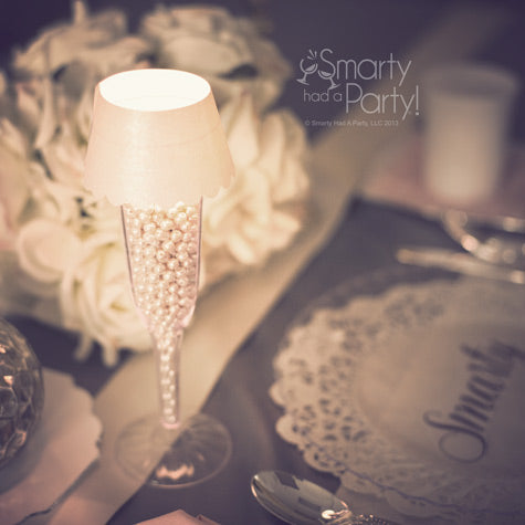 DIY-tea-light-champagne-glass-lamp