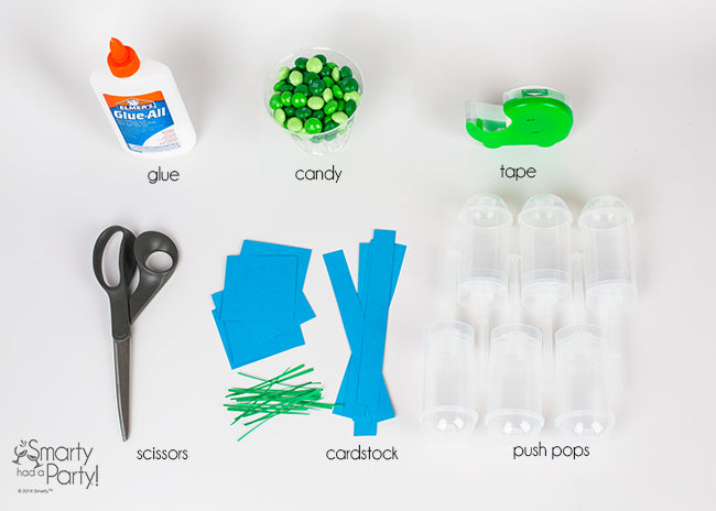 Everything you need to make graduation push pops | Smarty Had A Party