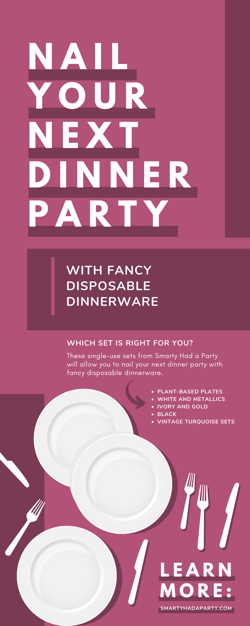 Nail Your Next Dinner Party With Fancy Disposable Dinnerware