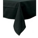Black Linen Polyester Tablecloth