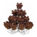 23 Cupcake or Dessert Cup Tower Stand