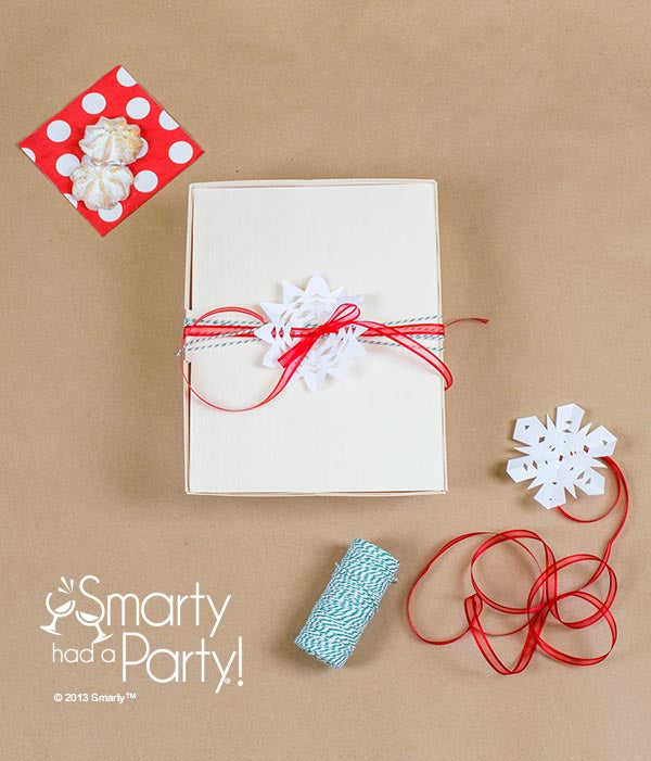 DIY Holiday Cookie Gift Box #SmartyHadAParty