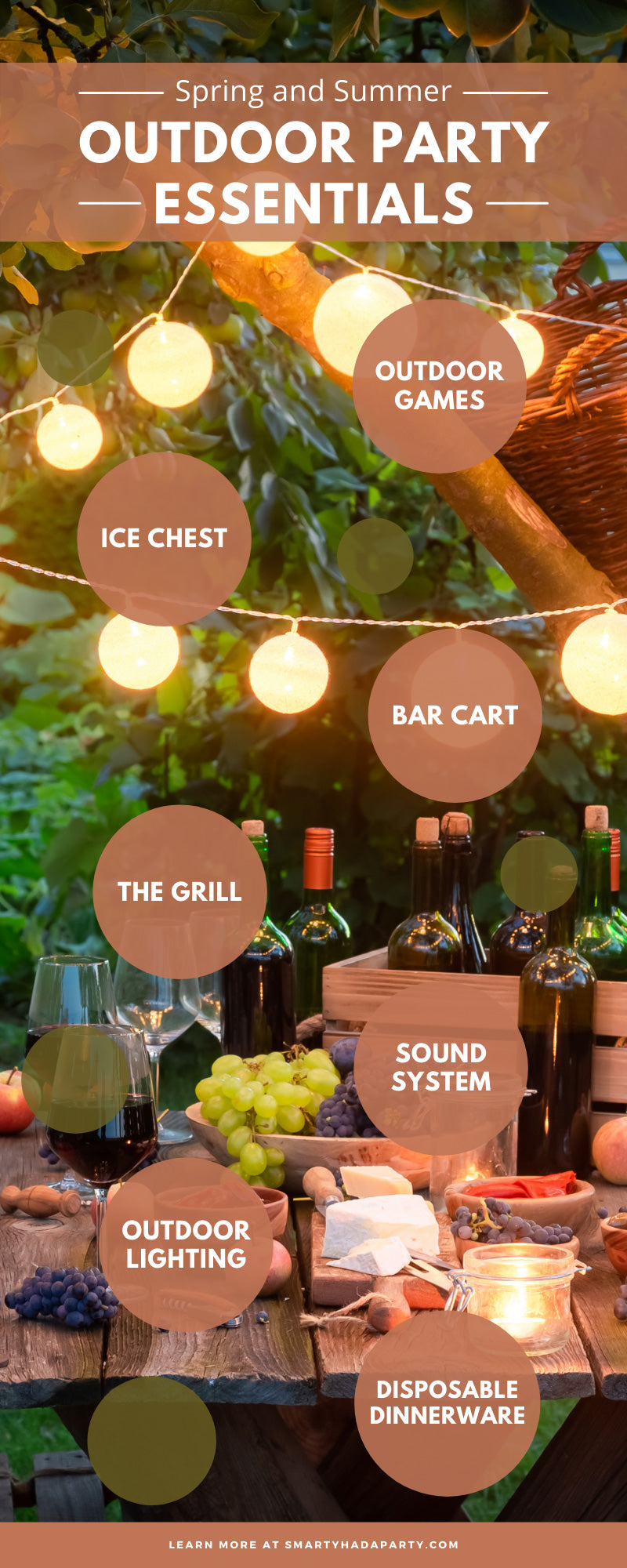 Spring and Summer Outdoor Party Essentials