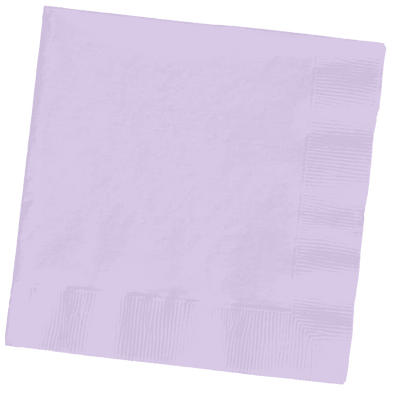 Luscious Lavender Paper Cocktail Beverage Napkins