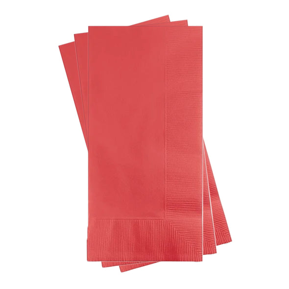 Coral Paper Dinner Napkins Secondary