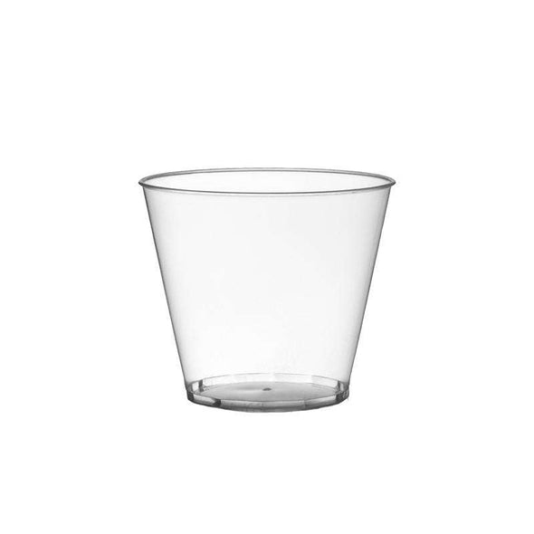 5 oz. Crystal Clear Plastic Disposable Party Cups