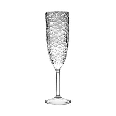 Crystal Disposable Plastic Champagne Flutes Main