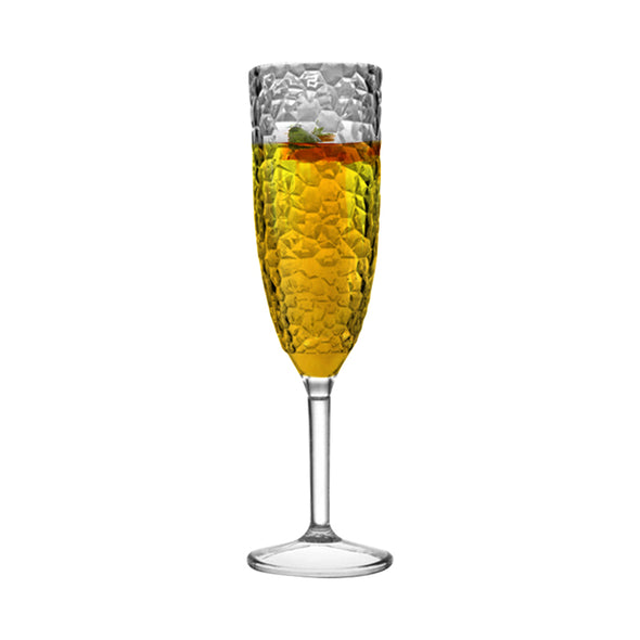 Crystal Disposable Plastic Champagne Flutes Secondary