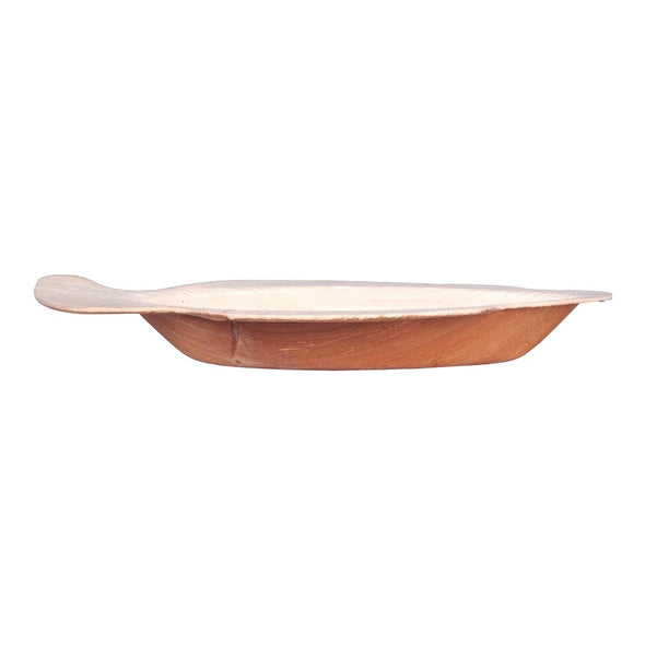 "9"" Fish Natural Palm Leaf Eco-Friendly Disposable Trays"