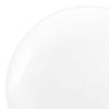 "7.5"" Solid White Organic Round Disposable Plastic Appetizer/Salad Plates"