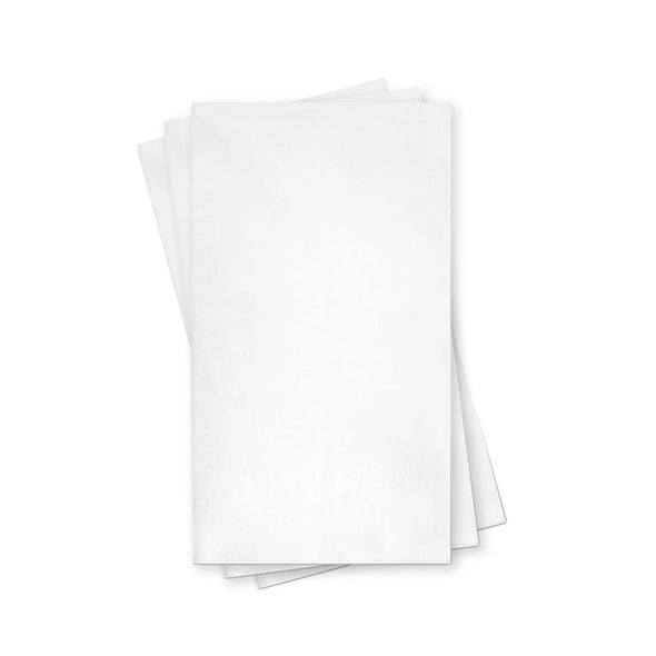 White Linen-Like Premium Paper Buffet Napkins Secondary