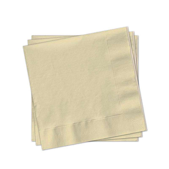 Ivory Paper Cocktail Napkins