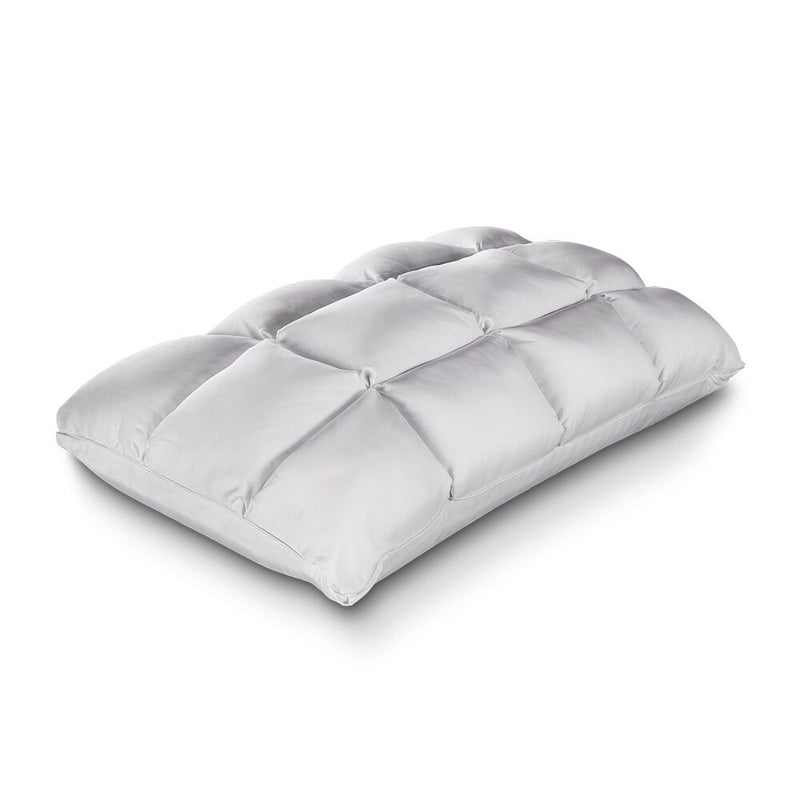 Priceless Cooling Tufted Top & Cool Gel Memory Foam Pillow