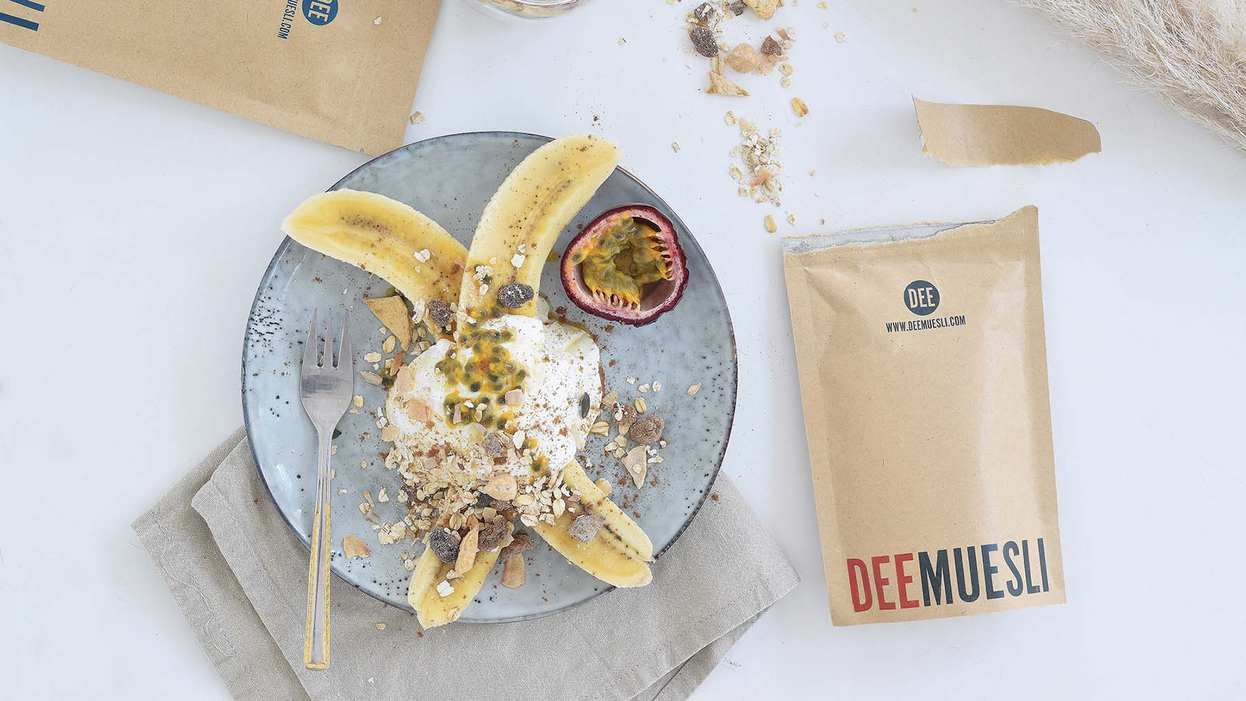Bananasplit with DeeMuesli