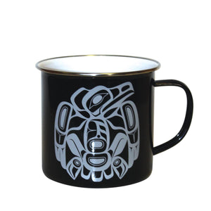 best camping mugs black raven corey w moraes tsimshian native indigenous aboriginal artist design