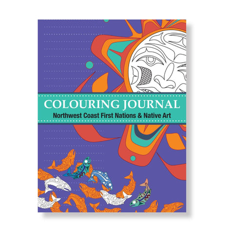Colouring Journal: Northwest Coast First Nations and Native Art