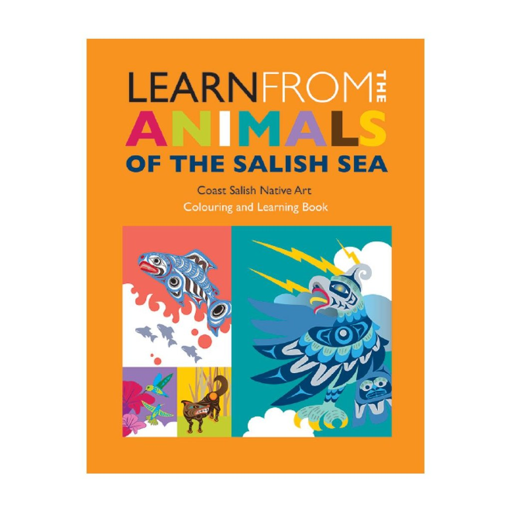 Colouring & Learning Book: Learn from the Animals of the Salish Sea