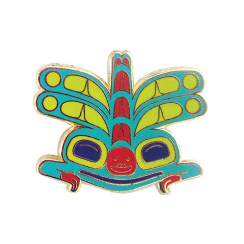 enamel pin corey bulpitt haida artist perfect gift unique gift