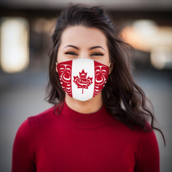 Reusable Face Mask - Standing Together by Curtis Wilson