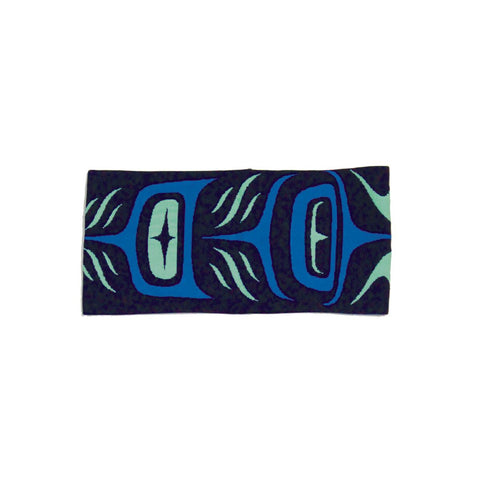 headband simone diamond feathers black blue green