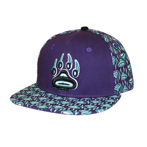 Snap Back Hat Wolf Spirit Willliam Cooper Tsimshian