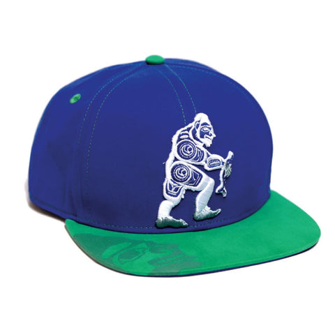 Snap Back Hat Spirit Sasquatch Colby Gates Haida design