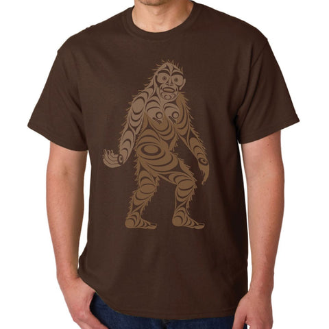 t-shirt sasquatch big foot perfect gift unique gift