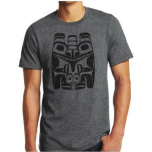 t-shirt alan weir haida bear cotton t-shirt cool t-shirt perfect gift unique gift