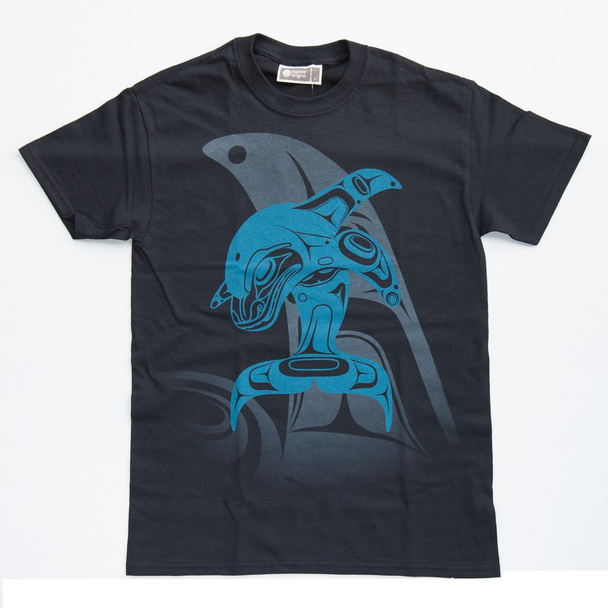 t-shirt whale tradition marcel russ balck blue perfect gift unique gift
