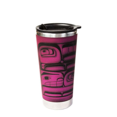 Travel Mug - Hummingbirds by Morgan Asoyuf, $13.95, All The Good Things From BC