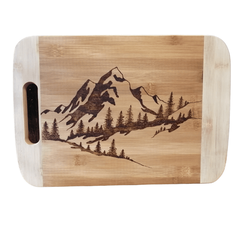 Cutting Board - Just Mountains by Viera Art