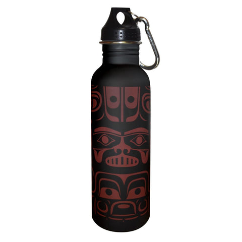 Water Bottle - Chilkat Whale by Ryan Cranmer
