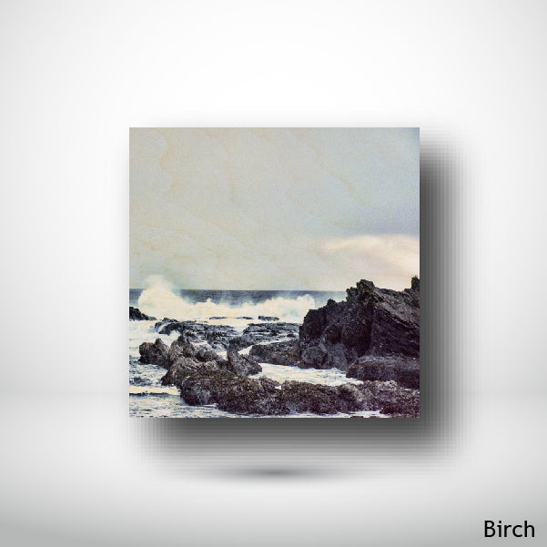 Wood Panel - Square - Birch - Stormy Shores
