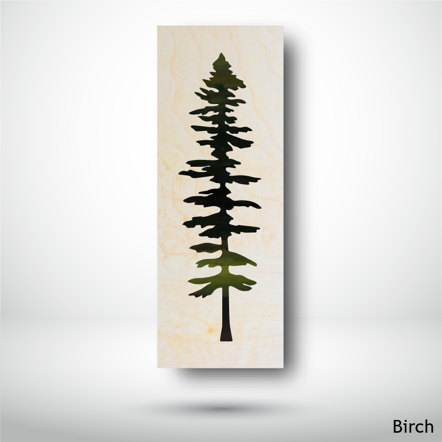 wood print birch sitka made in BC best gift great gift idea