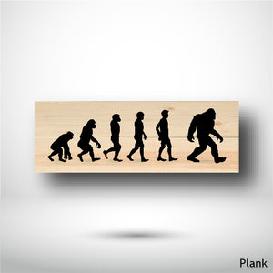 Wood Panel - Panorama - Plank - The Sasquatch Evolution