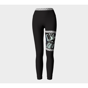 Leggings - Eagle Garter 3 - Alano Edzerza - Yoga Pants - women - girls - high waist